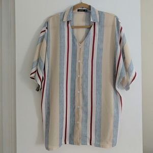 Like new! Boohoo oversized button down